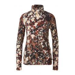 Turtleneck-Shirt mit Allover-Print by Q/S designed by
