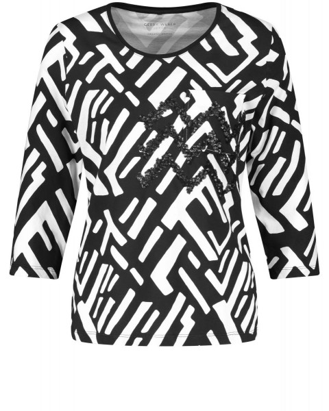 Shirt with 3/4 sleeves by Gerry Weber Casual