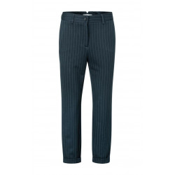 Relaxed pinstripe trousers by Yaya