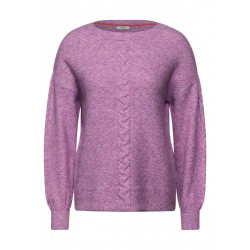 Pullover mit Zopfmuster by Cecil