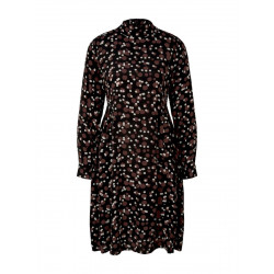 Dress with allover print by Tom Tailor
