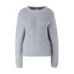 Pullover mit Lochstrickmuster by Q/S designed by