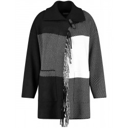 Cardigan with a fringe by Samoon