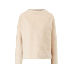 Long-sleeved shirt with a cord structure by s.Oliver Red Label