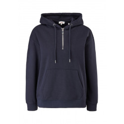 Soft sweatshirt with zipper by s.Oliver Red Label