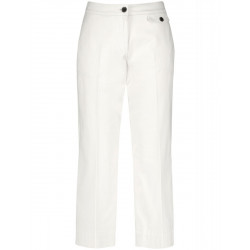 7/8 trousers with wide legs by Taifun