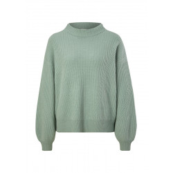 Jumper with a stand-up collar by s.Oliver Black Label