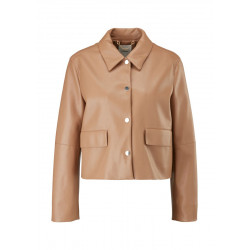 Soft jacket in leather look by s.Oliver Black Label