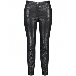 Snake print trousers by Samoon
