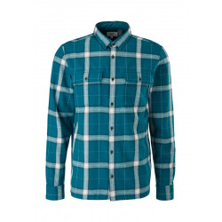 Extra slim: checked shirt by Q/S designed by