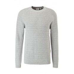Raglan sweater with textured pattern by s.Oliver Red Label