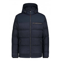 Jacket with detachable hood by State of Art