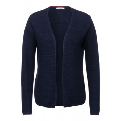 Open melange cardigan by Cecil