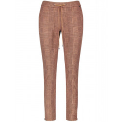 Checkered jog style pants by Gerry Weber Edition