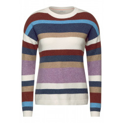 Sweater with stripes pattern by Cecil