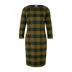 Checked shift dress by Tom Tailor