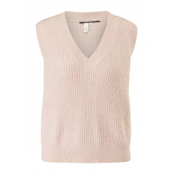 Knitted tank top by Q/S designed by