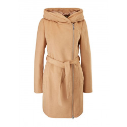 Wool mix hooded coat by s.Oliver Red Label