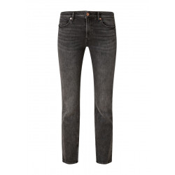 Slim: straight leg stretch jeans by Q/S designed by