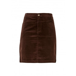 Corduroy skirt with saddle yoke by s.Oliver Red Label