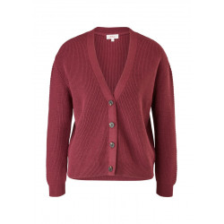 Cotton blend cardigan by s.Oliver Red Label