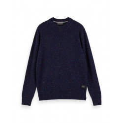 Speckled wool-blend pullover by Scotch & Soda