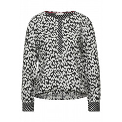 Blouse in a print mix by Street One