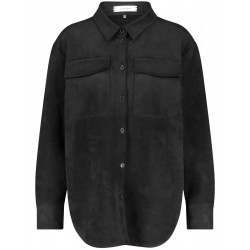 Shirt with a velor touch by Gerry Weber Casual