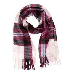 Scarf with a check pattern by Street One