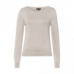 Metallic look sweater by More & More