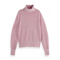 Ribbed turtle-neck pull-over by Scotch & Soda