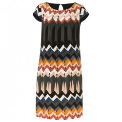 Kleid mit Zick-Zack Print by More & More