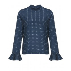 Blouse à col montant Fatje by Opus