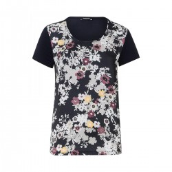 Shirt mit Satinfront by More & More
