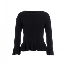 Pullover mit Volantdetail by More & More