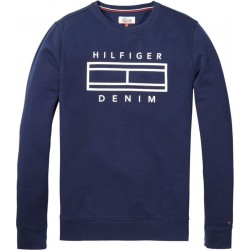 French-Terry-Sweatshirt by Hilfiger Denim
