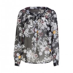 Chiffonbluse mit Flowerprint by More & More