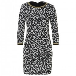 Sweatkleid im Leopardenmuster by More & More