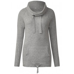 Sportiver Kuschel-Pullover by Cecil