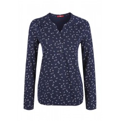 Tunikashirt mit Allover-Print by s.Oliver Red Label