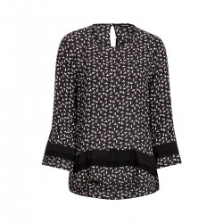 Blouse en viscose à motif fleuri by More & More