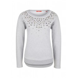 Sweat-shirt à pierres fines by s.Oliver Red Label