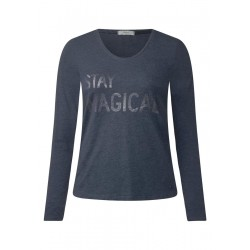 Softes Wording Longsleeve by Cecil