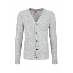 Strickjacke im Inside-Out-Look by s.Oliver Red Label