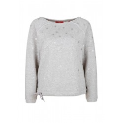 Softer Sweater mit Metallic-Print by s.Oliver Red Label