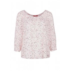 Gemusterte Crêpe-Bluse by s.Oliver Red Label