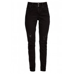 Shape Slim: Jeans mit Pailletten by s.Oliver Red Label