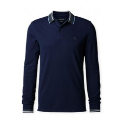 Polo, long sleeve, rib details and by Marc O'Polo