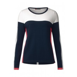 Colourblock Pullover by Street One