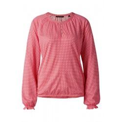 Jersey-blouse, raglan-sleeve, aop by Marc O'Polo